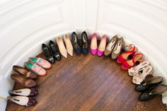 My shoes! photo by Ashley Batz  wow my shoes would not begin to fit into that little corner!