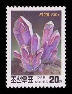 #crystal #stone #amethyst #stamp