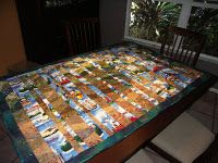 Tampa Window Quilt Wall Hanging