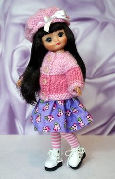 DiPPeD iN PiNK OmBRe...for TinyBetsy or Patsyette One 4 PC Clothing outfit in stock now. Click the pix to take you there!