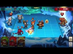 Mighty Party Heroes Clash - STRATEGY TBS GAMEplay - Mighty Party Heroes Clash is a Free Android Strategy TBS Mobile Multiplayer Game featuring a fast 3 minute dynamic PvP battles