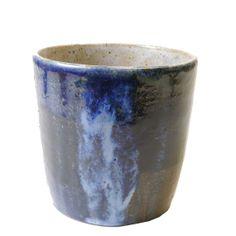 Indigo Blue stoneware mug