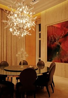 Luxury Dining Room Set Tiffanyaltamoda  Home Decor Mesmerizing Luxurious Dining Room Design Inspiration
