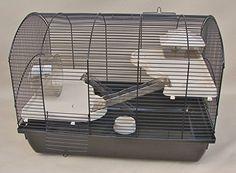 Nagerkäfig, Hamsterkäfig, Käfig, Etagen-Käfig Victor beige Vollausstattung: Amazon.de: Haustier