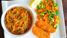 Tali's Tasty Garlic-flavoured Spaghetti & Mince Zimbabwe Food, Tasty, Yummy Food, Curry Powder, Fries, Garlic, Spaghetti, Meals, Dishes