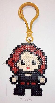 Marvel Heroes Hama Beads : Black Widow
