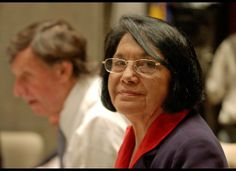 Alongside the late César Chávez, Dolores Huerta co-founded what would eventually become the United Farm Workers (UFW) labor union. For her service to her community and beyond (the Delano grape strike of 1965, lobbying for Aid to Families with Dependent Children), she's been the recipient of numerous awards from labor and women's organizations alike, making her a leading role model among Latinos and activists.
