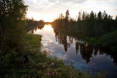Käyrämö, Rovaniemi in Finnish Lapland. Photo by Jani Kärppä. #filmlapland #finlandlapland #arcticshooting