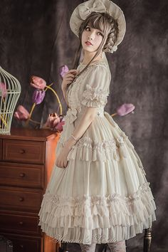 Hinana -Fairy Doll- Classic Lolita OP Dress