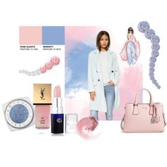 Untitled #790 by pamela-heinbaugh on Polyvore featuring NARS Cosmetics, Yves Saint Laurent, Nails Inc. and Essie