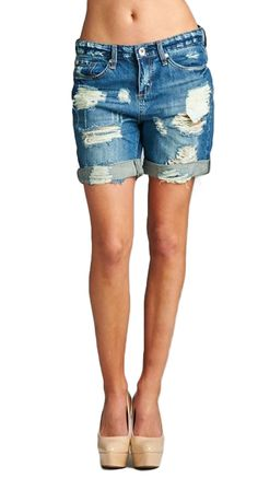 Great shorts for the summer. Buy the De-Stressed Bermuda Shorts now!