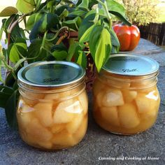 Honey & Vanilla Pears - Canning and Cooking at Home