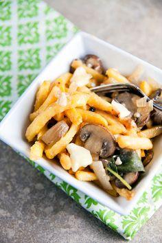 bean and mushroom poutine recipes dishmaps green bean and mushroom ...