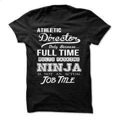 Athletic Director Perfect Xmas Gift - t shirt design #shirtless #moda sweater