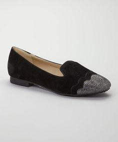 Another great find on #zulily! Black Shelly Loafer Flat by Diva Lounge #zulilyfinds