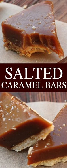 Almond and jam charm - HQ Recipes Salted Caramel Desserts, Caramel Shortbread, Caramel Recipes, Salted Caramels, Caramel Cupcakes, Cookie Recipes, Snack Recipes, Dessert Recipes, Bar Recipes