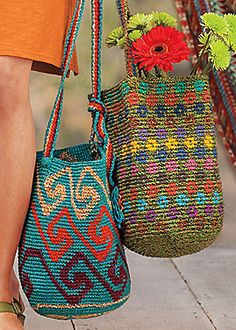 Nice and roomy summer bags good for a quick weekend getaway or toting stuff to the beach; my personal is the turquoise swirly design