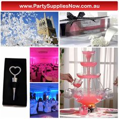 Wedding decorations  http://www.partysuppliesnow.com.au/