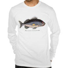 "Vintage Print ""Bahama Rock Fish"" Shirt"