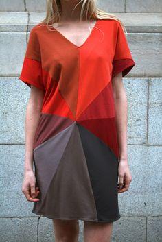 colour wheel dress