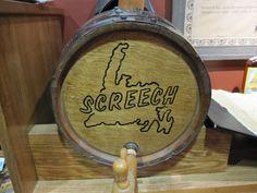 "screech keg  Mom used to laugh talking about ""Newfoundland Screech"" !"