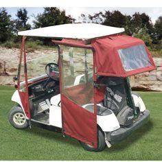 Yamaha G14-G19 DoorWorks Enclosures Golf Cart Enclosures, Golf Cart Covers, Golf Accessories, Golf Carts, Outdoor Furniture, Outdoor Decor, Canopy, Yamaha, Camping