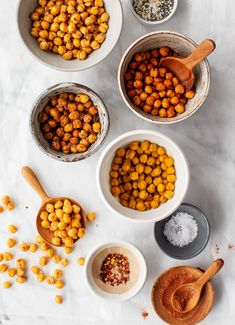 Nutritious Snack Tips For Equally Young Ones And Adults Roasted Chickpeas Are A Great Healthy Snack Or Crispy Addition To Your Favorite Healthy Dishes Learn How To Make Them With My Go-To Tips and Tricks. Love And Lemons Protein Packed Snacks, Healthy Vegan Snacks, Nutritious Snacks, Healthy Dishes, Vegan Appetizers, Tasty Snacks, Healthy Cooking, Healthy Meals, Healthy Life