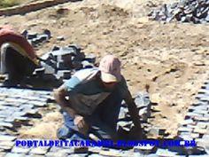 PORTAL DE ITACARAMBI: ITACARAMBI:Obras de pavimentação em ritmo acelerad...