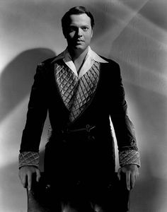 Orson Wells in Citizen Kane, 1941