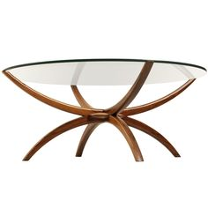 Rosewood sidetable attributed to Wikkelso   1stdibs.com