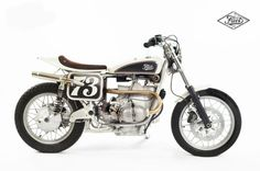 BMW R100RS Street Tracker by Fuel Motorcycles Inc #streettracker #motorcycles #motos   caferacerpasion.com