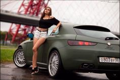 Alfa Romeo Brera, Alfa Romeo Gtv 2000, Beautiful Women Pictures, Car Girls, Cars And Motorcycles, Muscle Cars, Vintage Cars, Classic Cars, Photo Galleries