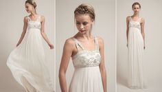 Vintage Chic Style Wedding Gown