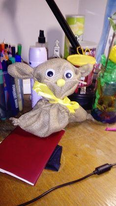 králík z pytloviny/rabbit of burlap