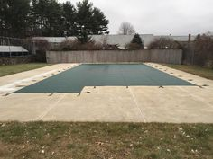 Another pool with a Loop Loc safety cover