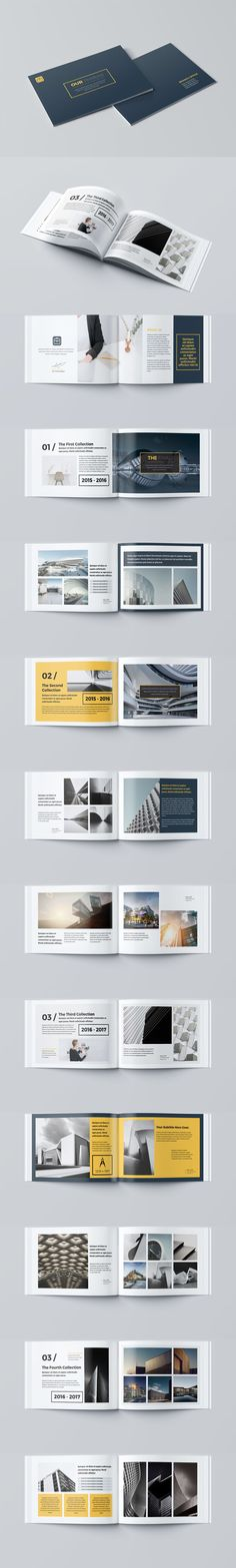 Our Portfolio Architecture 24 Pages A4 & A5 Template InDesign INDD