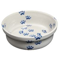 Give your pet its very own Hadley Pottery pet bowl. Not only are these stoneware pet items durable, they will match your Hadley home décor.