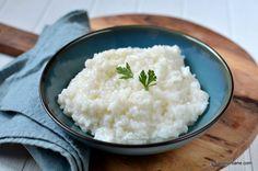 Orez simplu rețeta de garnitură de orez cremos cu unt   Savori Urbane Unt, Risotto, Grains, Rice, Recipes, Food, Essen, Meals, Eten