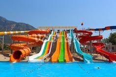 Oludeniz Water World Aquapark - the biggest water park in Fethiye Turkey http://www.traveltofethiye.co.uk/explore/activities/oludeniz-water-world-aqua-park/