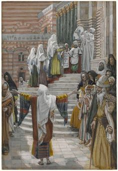 The Presentation of Jesus in the Temple - James Tissot