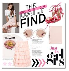 """""""Jun. N° 5 - The Daily Find. Just us Girls!"""" by martinambf on Polyvore featuring moda, Gucci e Aquazzura"""