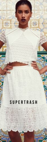 white on white #SuperTrash