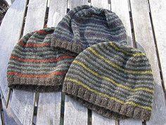 Ravelry: Striped Beanie pattern by Martin Storey