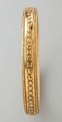 vintage Chanel bangle