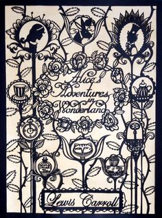 Su Owen Design: Paper-cuts Alice in Wonderland