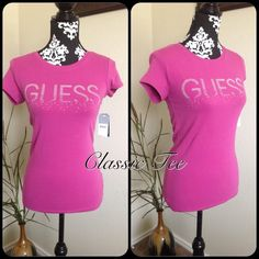 """Spotted while shopping on Poshmark: """"Guess classic Tee""""! #poshmark #fashion #shopping #style #Guess #Tops"""