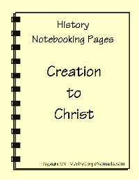 Mystery of History Notebooking Pages Vol 1 & 2:  currently unavailable - hope they come back someday