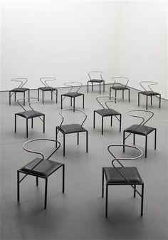 Shiro Kuramata Apple Honey chairs