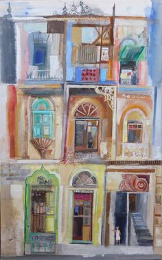 Building Sketch, Building Art, Art And Illustration, Collage Art Mixed Media, Beautiful Textures, Built Environment, Urban Landscape, Love Art, Sketches