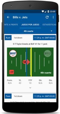 AppsUser: OnPoint Sports, aplicación para llevar las estadísticas en tiempo real de la NFL